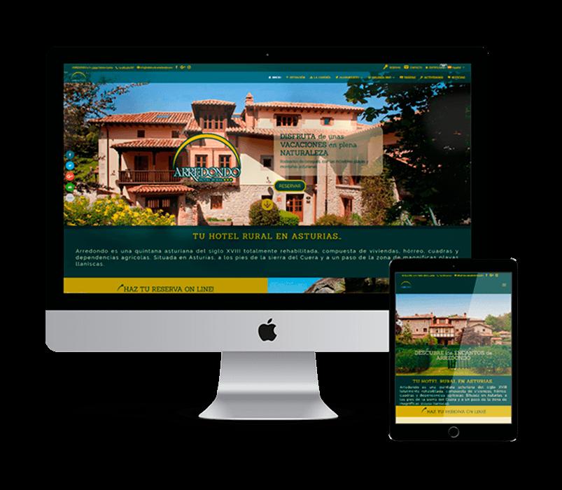 WEB HOTEL RURAL ARREDONDO