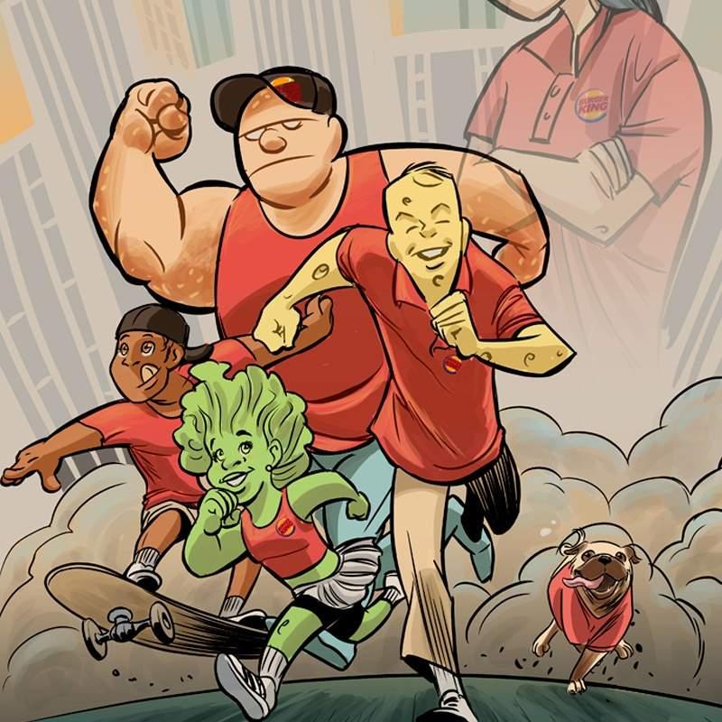Super Héroes -Burger King
