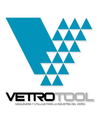 Diseño de imagen corporativa para la empresa VetroTool, industria vídrio