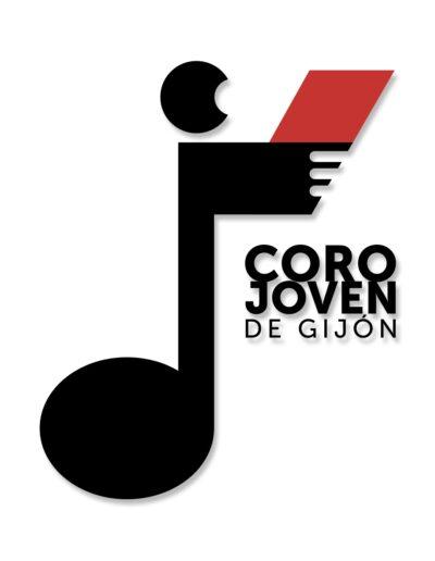 Diseño de imagen gráfica para Coro Jovén de Gijón