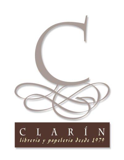 Imagen corporativa y recursos visuales de la librería papelería asturiana Clarín