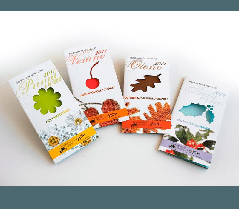 Editorial: libros, revistas, catálogos. Programas actividades Botánico