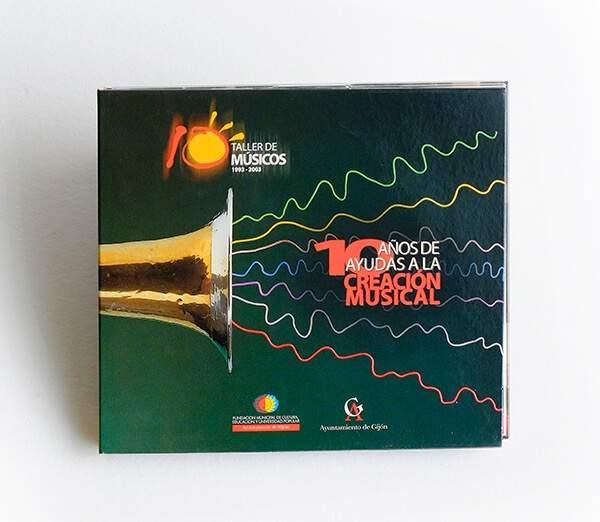 CAJA CD-10Años de ayudas a la producción Musical
