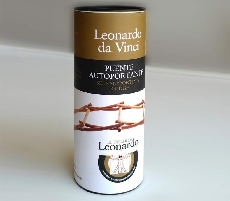 Diseño embase juego Leonardo Da Vinci