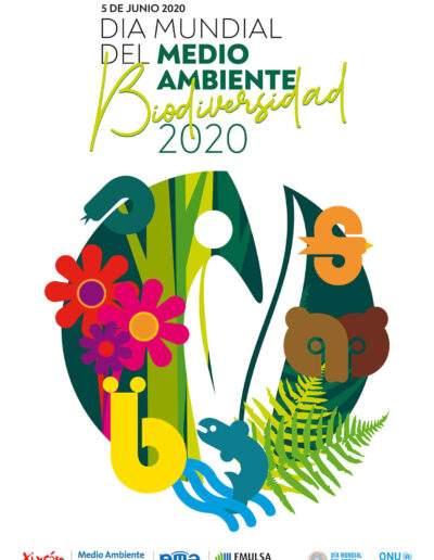 Cartelería - Día Mundial Medio Ambiente