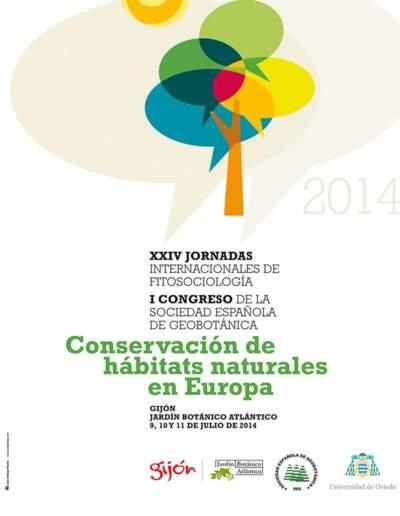 Cartel para Botánico de Gijón -Geobotánica